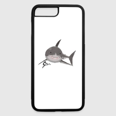 Great White Shark - Swaggy Shark - iPhone 7 Plus/8 Plus Rubber Case