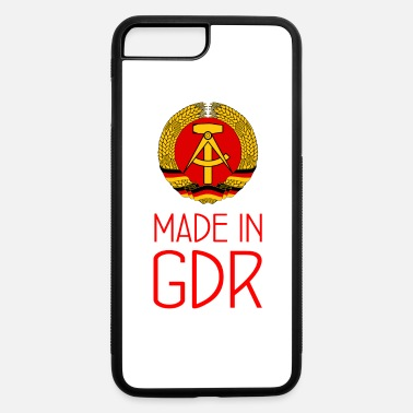East Made in GDR - DDR - Deutsche Demokr. Rep. - Berlin - iPhone 7 & 8 Plus Case