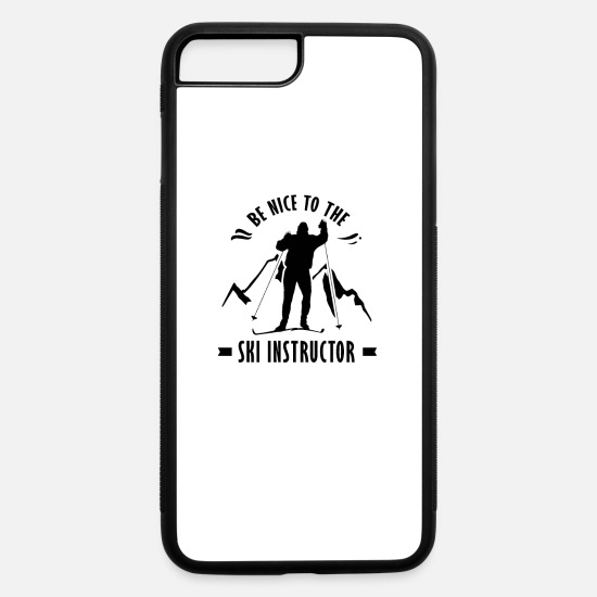 Gift Idea iPhone Cases - Ski Intructor - iPhone 7 & 8 Plus Case white/black