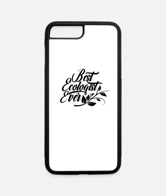 Eco iPhone Cases - Ecology Eco Ecologists Ecologist Team - iPhone 7 & 8 Plus Case white/black