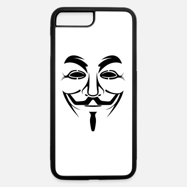Anonymous Guy Fawkes Anonymous - iPhone 7 Plus/8 Plus Rubber Case
