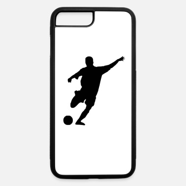 Kicker soccer kicker (silhouette) - iPhone 7 Plus/8 Plus Rubber Case