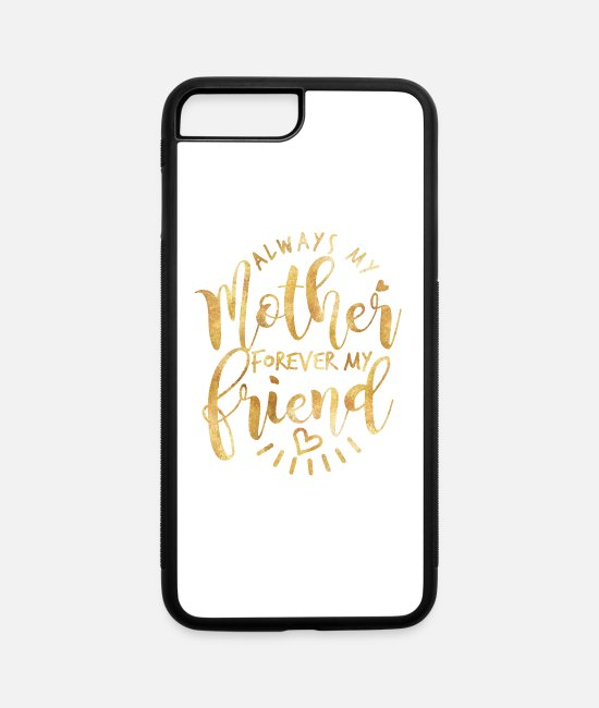 Happy Mother's Day iPhone Cases - Mother's Day - iPhone 7 & 8 Plus Case white/black