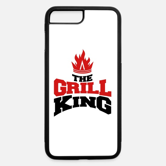 Grillking iPhone Cases - The grill king - iPhone 7 & 8 Plus Case white/black