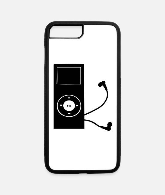 MP3 Player iPhone Cases - mp3 player - iPhone 7 & 8 Plus Case white/black