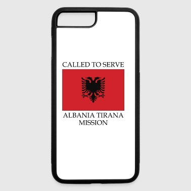 Tirana Albania Tirana LDS Mission Called to Serve Flag - iPhone 7 Plus/8 Plus Rubber Case