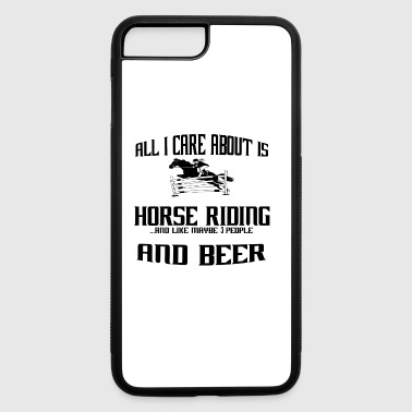 All i care about is reiterin reiten reiterhof huf - iPhone 7 Plus/8 Plus Rubber Case