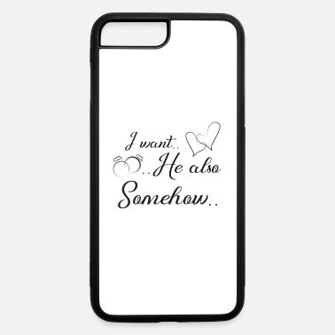 Wedding Day funny wedding, engagement, wedding day - iPhone 7 & 8 Plus Case