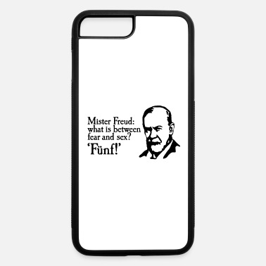 Psychotherapist Mr Freud what is between fear and sex Fünf Sigmund - iPhone 7 & 8 Plus Case