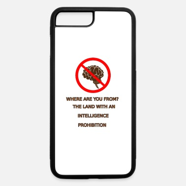 Prohibition Intelligence prohibition - iPhone 7 Plus/8 Plus Rubber Case