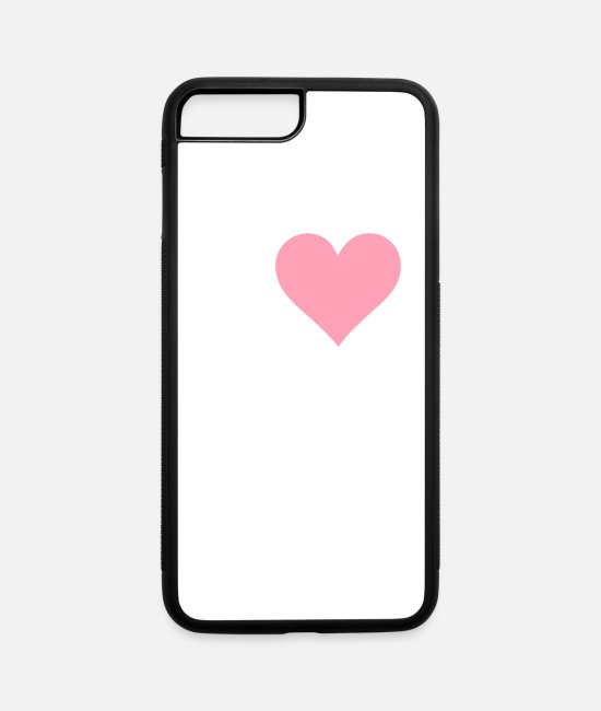 Virus iPhone Cases - I Love Swine Flu! - iPhone 7 & 8 Plus Case white/black