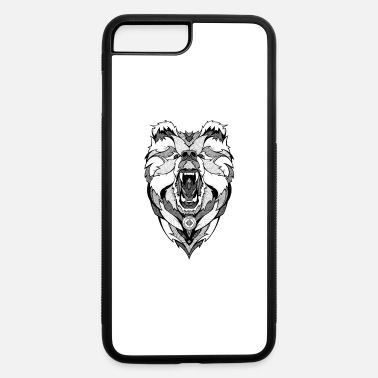 Bear Graphic Valar - iPhone 7 Plus/8 Plus Rubber Case