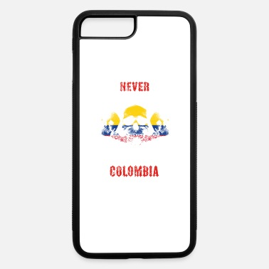 Colombia Roots never underestimate man COLOMBIA - iPhone 7 & 8 Plus Case