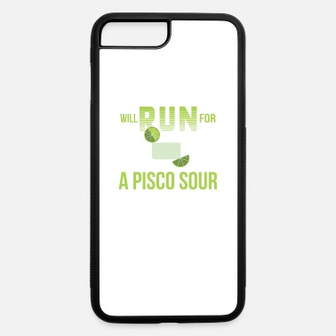 Pisco Will Run For Pisco Sour Drinking Runner - iPhone 7 & 8 Plus Case