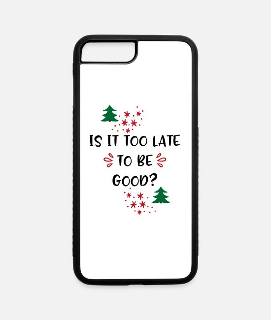 Christmas iPhone Cases - Christmas - iPhone 7 & 8 Plus Case white/black