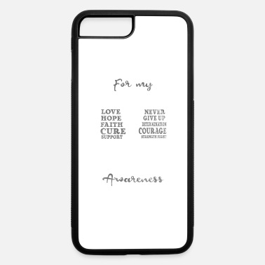 1 Shirt for diabetes awareness day - For my daughter - iPhone 7 & 8 Plus Case