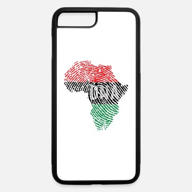 Afro DNA AFRO MAP - iPhone 7 Plus/8 Plus Rubber Case