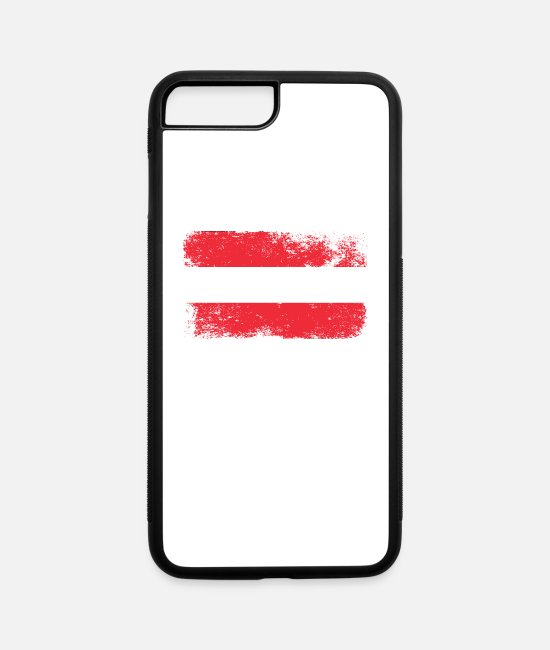 Austria iPhone Cases - austria - iPhone 7 & 8 Plus Case white/black