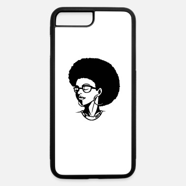 Afro afro woman - iPhone 7 & 8 Plus Case