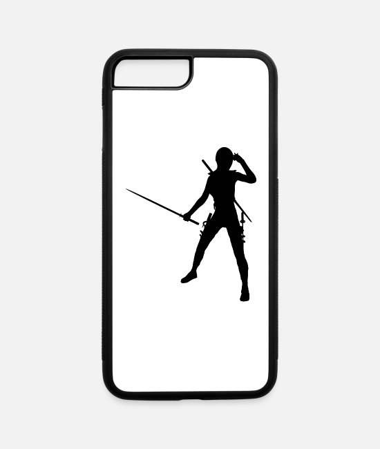 Life Force iPhone Cases - ninja - iPhone 7 & 8 Plus Case white/black