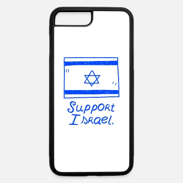 Palestina Support Israel flag palestina gift jew - iPhone 7 Plus/8 Plus Rubber Case