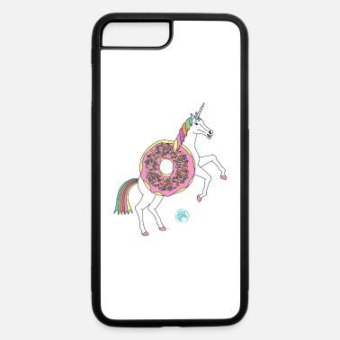 Frosted Doughnut Doughnut Unicorn Outline - iPhone 7 & 8 Plus Case