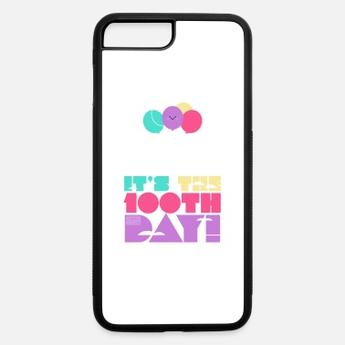Cute Colorful Up and Away Balloon 100 Days of Scho - iPhone 7 & 8 Plus Case