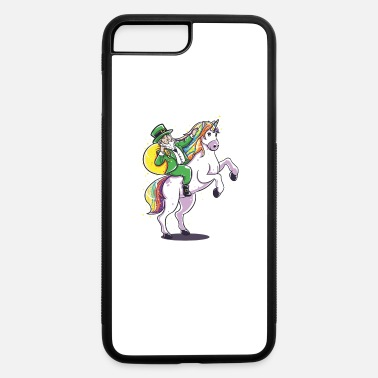 Day Funny St Patricks Day Leprechaun Party gift Paddy - iPhone 7 & 8 Plus Case
