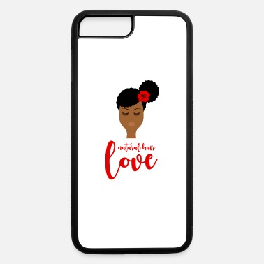 Natural Natural Hair Gifts for Black Girls and Black Women - iPhone 7 & 8 Plus Case