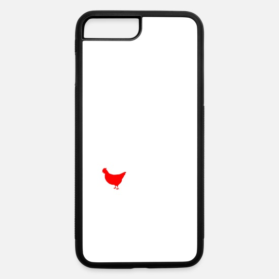 Proud iPhone Cases - My second language is Chicken - iPhone 7 & 8 Plus Case white/black