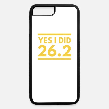 Boston Marathon Yes I Did 26.2 Boston Marathon - iPhone 7 Plus/8 Plus Rubber Case