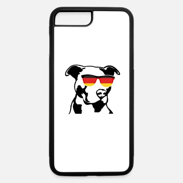 German Patriotic Pitbull German Flag - iPhone 7 & 8 Plus Case