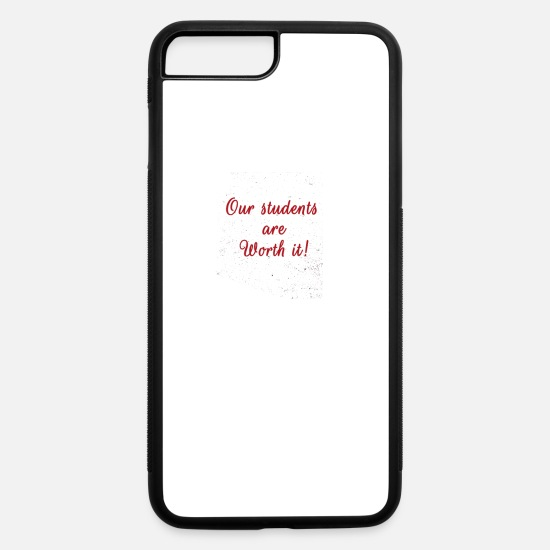 Birthday iPhone Cases - Protest Arizonas Future Is In My Classroom Gift - iPhone 7 & 8 Plus Case white/black