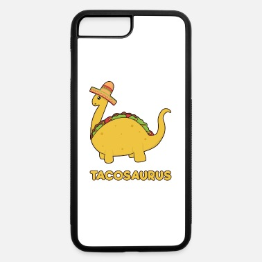 Funny Cinco de Mayo Tacosaurus - vintagecontest - iPhone 7 & 8 Plus Case