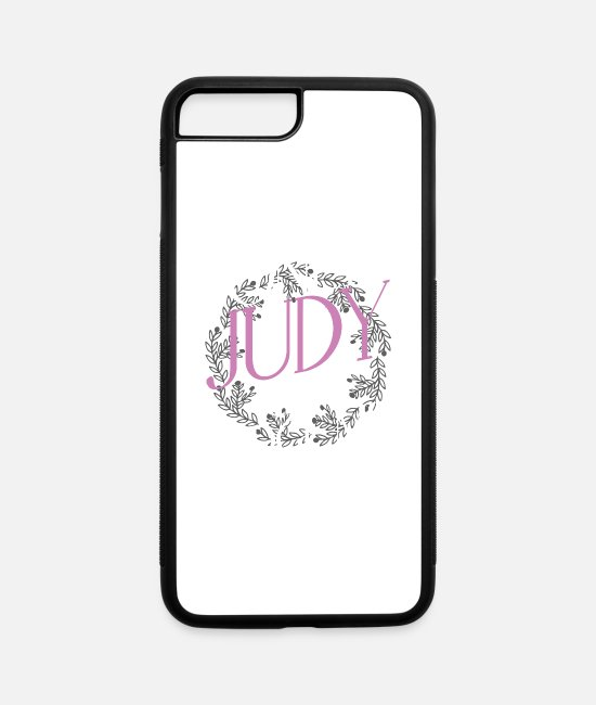Judge Judy iPhone Cases - Only Judy Can Judge Me - Funny - iPhone 7 & 8 Plus Case white/black