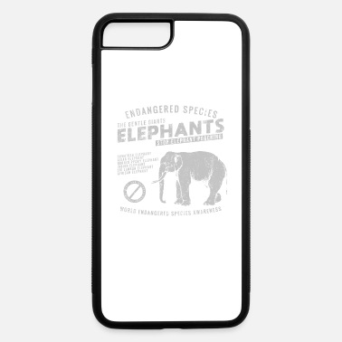 Stop Poaching Endangered Elephants - iPhone 7 & 8 Plus Case