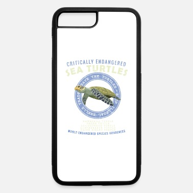 Save Save The Sea Turtles - Endangered Species Awarenes - iPhone 7 & 8 Plus Case