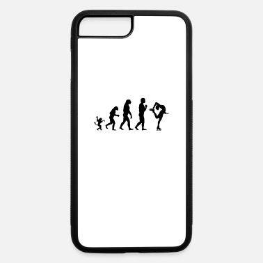 Ice Skate ice skating evolution, #ice skating - iPhone 7 Plus/8 Plus Rubber Case