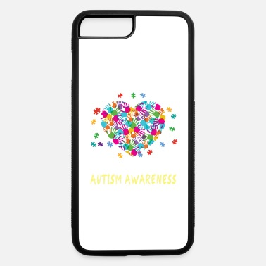 Aspergers Syndrome it s okay to be different autism awareness - iPhone 7 Plus/8 Plus Rubber Case