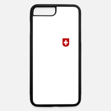 Jersey Number Switzerland Soccer Foorball Jersey 2018 Number 10 - iPhone 7 Plus/8 Plus Rubber Case