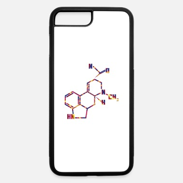 LSD Molecule for Trippy Science Nerds - iPhone 7 & 8 Plus Case
