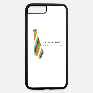 Necktie Fathers Day Necktie - iPhone 7 Plus/8 Plus Rubber Case