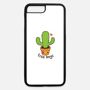Cactus Cartoon Cute Cactus cartoon Free Hugs - iPhone 7 & 8 Plus Case