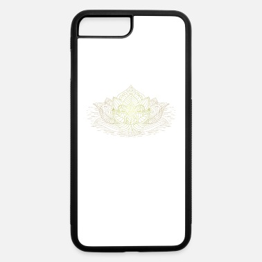 Buddhism Buddhism Lotus Flower - iPhone 7 Plus/8 Plus Rubber Case