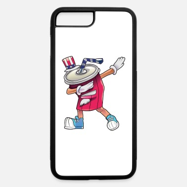 Soda Can Dabbing July 4th - iPhone 7 & 8 Plus Case