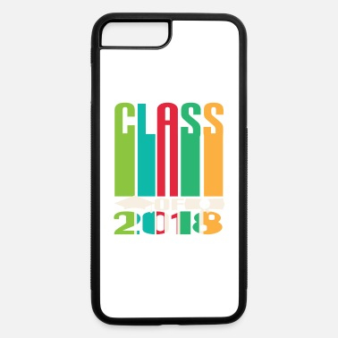 High School Graduate High School Class Of Graduation Retro Grad Gift - iPhone 7 Plus/8 Plus Rubber Case
