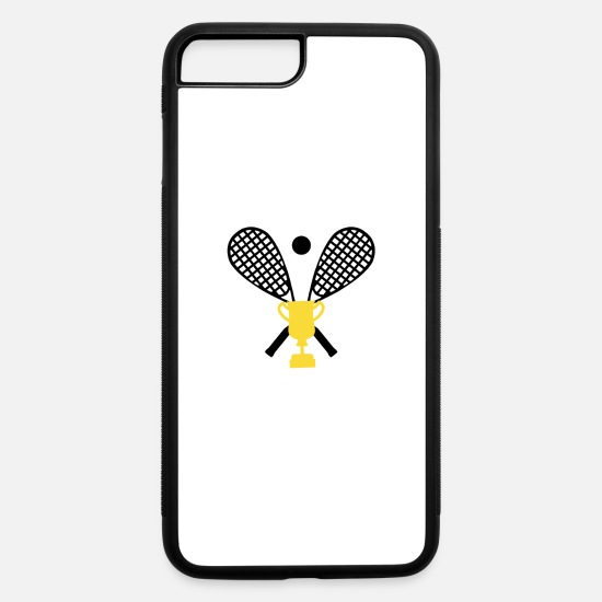 Arrogant iPhone Cases - World's Okayest Squash Player - iPhone 7 & 8 Plus Case white/black