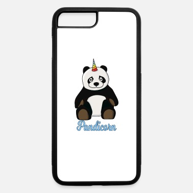 Fairytail (Gift) I am pandacorn Unicorn fairytail birthday gift - iPhone 7 Plus/8 Plus Rubber Case