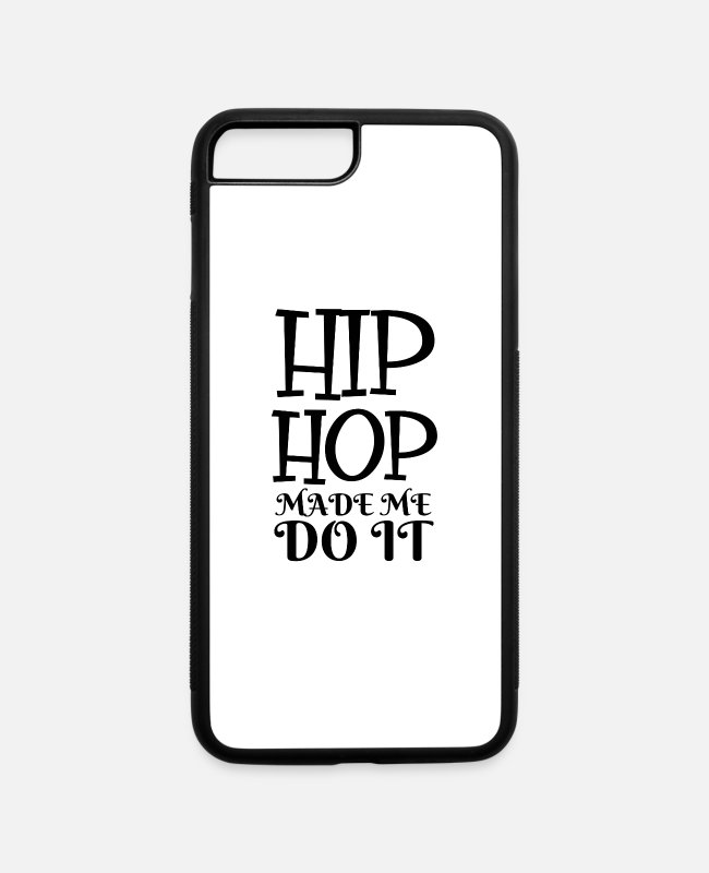 Rap iPhone Cases - hip hop - iPhone 7 & 8 Plus Case white/black