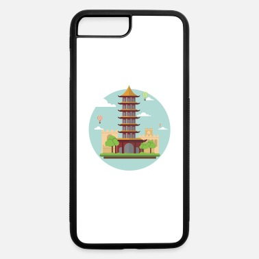 Asian asian tower - iPhone 7 Plus/8 Plus Rubber Case